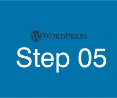 Step05 ブログトップページの作成 WP管理画面内でテーマの編集を行う
