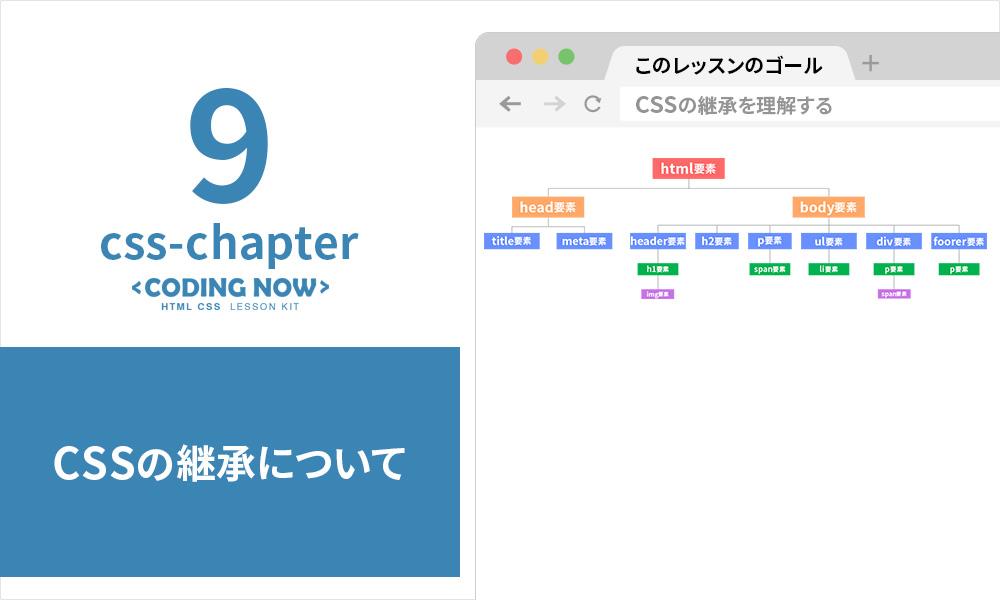 CSSの継承を理解しよう!