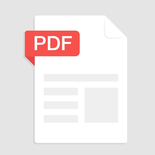 PDF形式でデザイナーのポートフォリオ